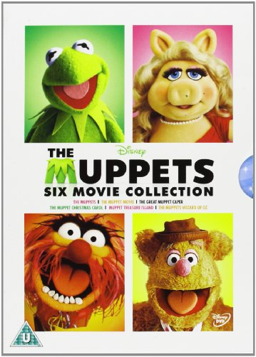The Muppets 6 Film Collection [DVD] [1979]