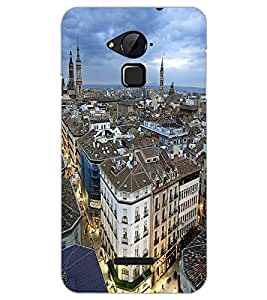 COOLPAD NOTE 3 CITY VIEW Back Cover by PRINTSWAG