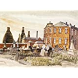 Bethesda Methodist Chapel and Churchyard, Hanley, Staffordshire, by Louisa Puller (V&A Custom Print)