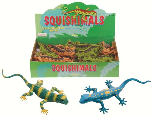 Toysmith Lizard Squishimal Toy