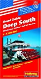 Hallwag Deep South, Mississippi Valley & Gulf Of Mexico ~ USA Road Guide No 10 (USA Road Guides)