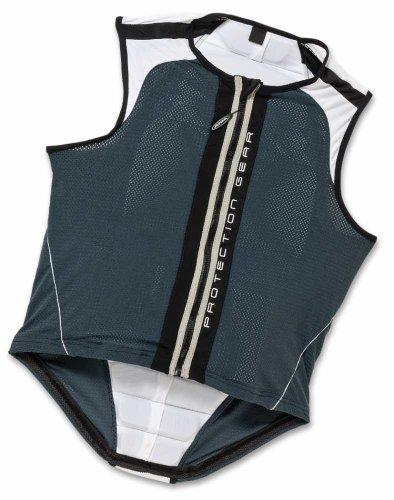 Rückenprotektor Alpina Jacket Soft in 3 Farben, Farbe:anthracite-white;Größe:149-164