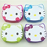 Hello Kitty Nail ART Polish Remover Wet Wipes Pads Paper Towel Cleansing Fruit Scents