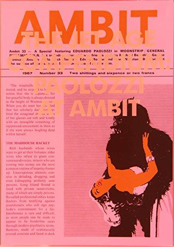 Eduardo Paolozzi - the Jet Age Compendium: Paolozzi at Ambit 1967-1980