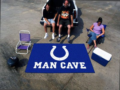"NFL - Indianapolis Colts Man Cave UltiMat Rug 60""x96"""