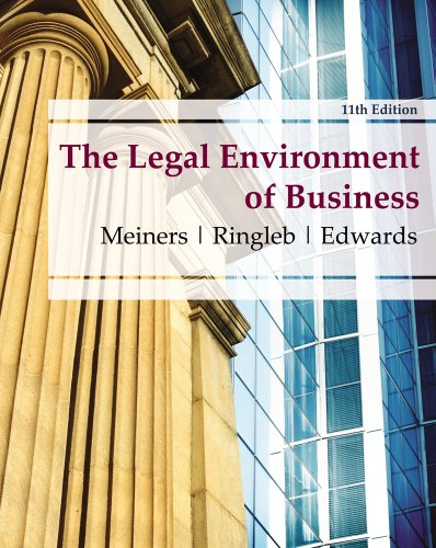 Introduction to critical thinking and writing in business law and the legal environment
