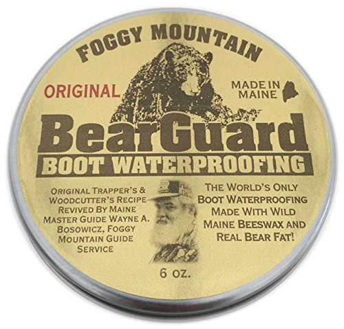 Bear Guard Original - Boot and Leather Waterproofing - Beeswax and Bear Grease (Bear Mountain Boots compare prices)