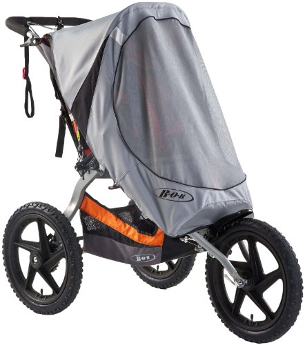 BOB Sun Shield for Single Sport Utility Stroller/Ironman Models, Gray