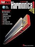 FAST TRACK HARMONICA BOOK ONE BOOK/CD (Fast Track (Hal Leonard))