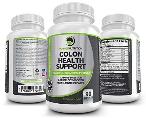 Colon Health Support: Powerful Colon/Bowel Cleansing Formula.