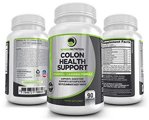 Colon Health Support: Powerful Colon/Bowel Cleansing Formula.