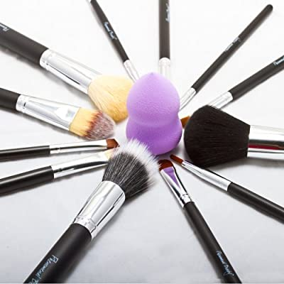 Best Cheap Deal for On Sale Now Amazon's Best & Most Essential Professional Beauty Makeup Brush Set Top Rated 14 pc Pro Cosmetic Brushes & Makeup Blender Foundation Puff Sponge & 4 Free eBooks by Phenomenal Beauty. After Christmas Sales. Year End Deal fro
