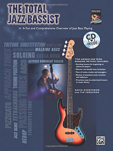 total-jazz-bassist-book-cd-guitare-basse-overthroe-d-ferguson-t-alfred-publishing