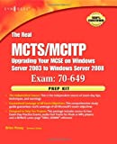 echange, troc Brien Posey - The Real MCTS/MCITP Exam 70-649 Prep Kit: Independent and Complete Self-paced Solutions