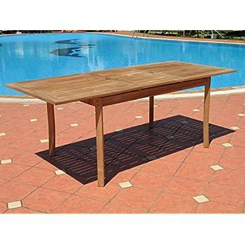9pc Outdoor Teak Wood Patio Dining Furniture Set