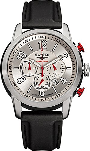 ELYSEE Made in Germany The Race I Men's 45mm Chronograph Quartz Watch 80523S