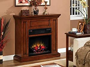 "ClassicFlame Oxford 23"" 1000 Sq. Ft. Spectrafire Infrared Electric Fireplace Mantel Package - 23IW1254-C253"
