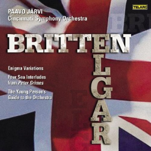 ELGAR : VARIATIONS  ENIGMA  - BRITTEN : THE YOUNG PERSON'S GUIDE TO THE ORCHESTRA...
