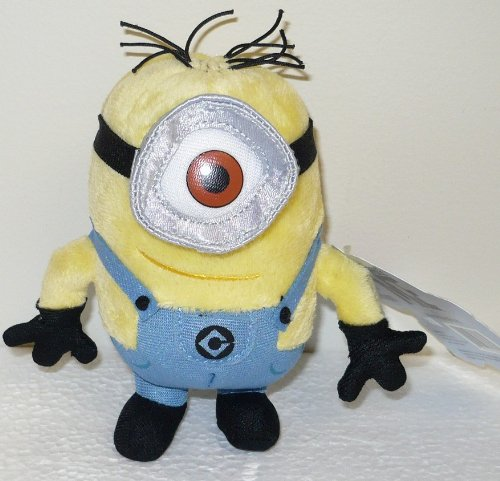 One Eye Minion Despicable Me http://despicable-me-doll.blogspot.com/2011/04/despicable-me-movie-yellow-one-eyed.html