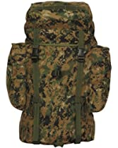Digtial Woodland Camo Rio Grande Packs 25 45 or 75 Ltr