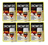 6 x Snowfire Ointment Stick - Solid emollient ointment for dry skin - More Options Available
