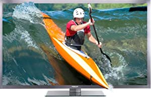 Finlux 55S7090-T 55 Inch Widescreen Full-HD LED 3D TV with Freeview HD 2D-3D Up-scaling 100Hz & PVR Black (New for 2013)