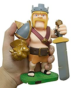 """Amazon.com: 6.7"""" Clash of Clans Figure Toys Barb King: Toys & Games"""