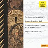 Bach: Well-Tempered Klavier Vol.2 (The Koroliov Series Vol.6)