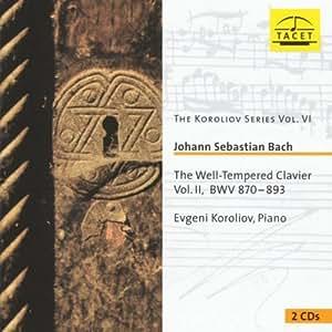 Bach : Le Clavier bien tempéré II