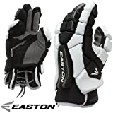 Easton Stealth Core 10-Inch Lacrosse Gloves (Black/White)
