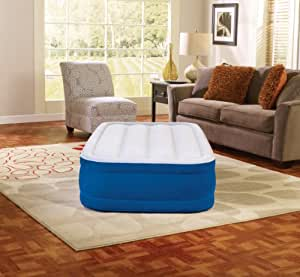 Simmons Beautyrest 15-Inch Twin Plushaire Express Air Bed with Pump