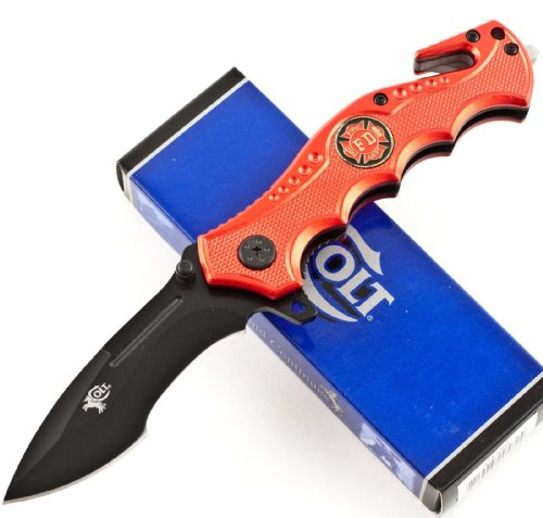 Colt Fire Fighter Rescue Linerlock Knife