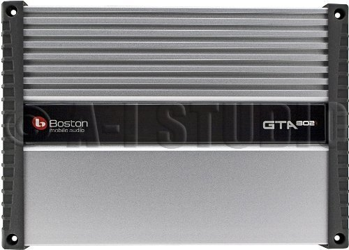 Boston Acoustics Gta-802 260 Watt Rms Gta Series 2 Channel Class Ab Car Amplifier