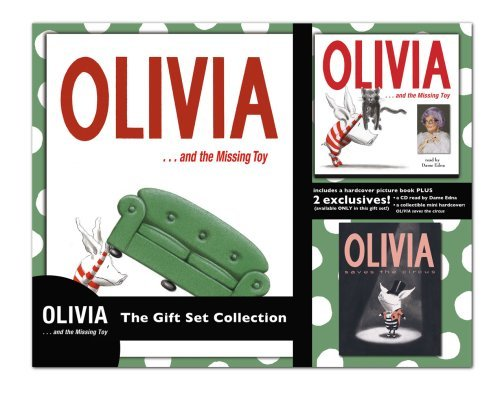 Olivia . . . and the Missing Toy The Gift Set Collection: Olivia...and the Missing Toy, Olivia...and the Missig Toy CD, Olivia Saves the Circus mini POB by Ian Falconer (2008-10-07)