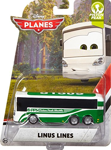 Disney Planes, 2015 Piston Peak, Linus Lines Die-Cast Vehicle