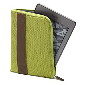 Amazon Kindle Zip Sleeve, Lime (fits Kindle and Kindle Paperwhite)