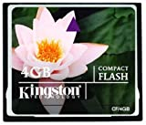 Kingston 4 GB CompactFlash Memory Card CF/4GB