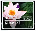 Kingston Compact Flash - 4096 MB