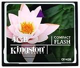Kingston Compact Flash Memory Card 4Gb CF/4Gb