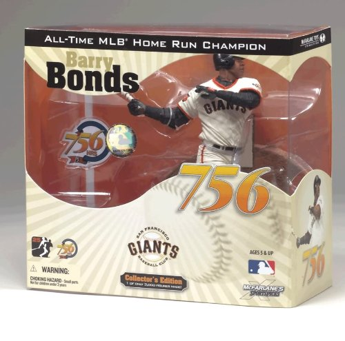 McFarlane Toys MLB Sports Picks Action Figure COLLECTOR'S EDITION 756th Home Run Barry Bonds