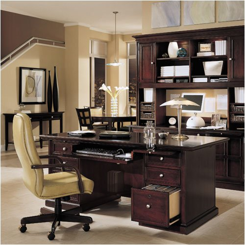 Stanley Furniture American Modern Executive Desk Set 370 Executive Desk Series