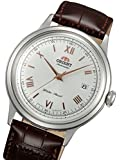 Orient Bambino Automatic Dress Watch with White Dial, Roman Numeral Markers ER2400BW