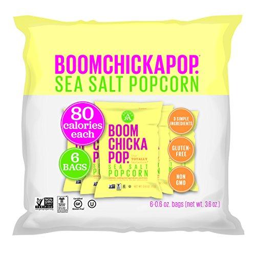 Angie's BOOMCHICKAPOP Sea Salt Popcorn, 0.6 Ounce Bag, 6 Count (Angies Popcorn Seasalt compare prices)