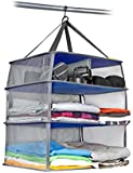 Valet Luggage Compression Shelves with Storage Case