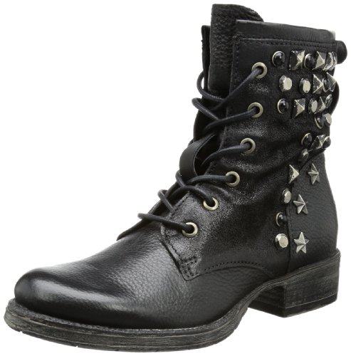 Mjus 185240 Boots Womens Black Schwarz (nero 6002) Size: 6.5 (40 EU)