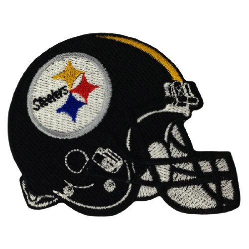 Pittsburgh Steelers Helmet Logo Embroidered Iron Patches at Amazon.com