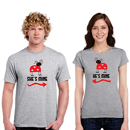 TYYC You are Mine Cotton Couple Tshirts