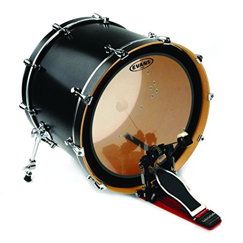 evans eq4 clear bass drum head 22 inch arts entertainment