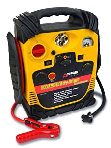 Wagan 2544 500 Amp Battery Jumper with Air Compressor by Wagan