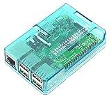 Raspberry Pi Model B+ / Pi2用ケースセット(GPIO Open型-Blue)